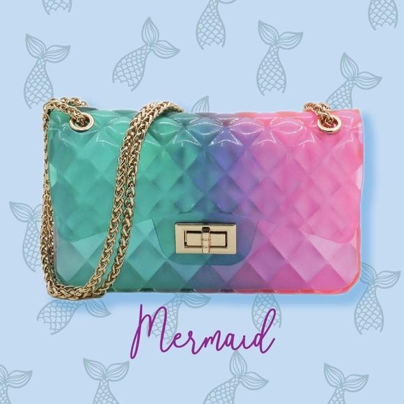 Handbags - Mermaid Jelly Shoulder Bag